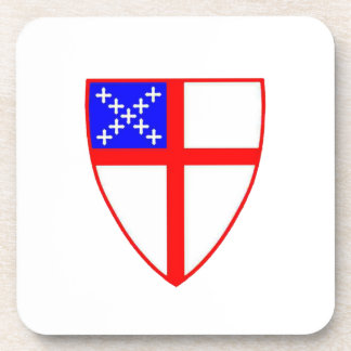 Episcopal Shield Drink Coaster