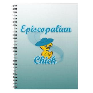 Episcopalian Chick 3 Spiral Notebook