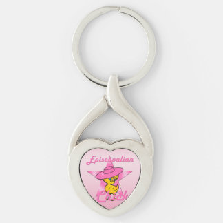 Episcopalian Chick #8 Keychain