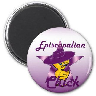 Episcopalian Chick #9 2 Inch Round Magnet