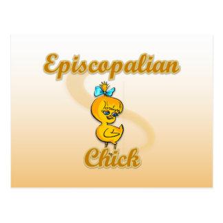 Episcopalian Chick Postcard