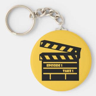 Episode Basic Round Button Keychain