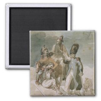 Episode from Napoleon's Retreat Magnet