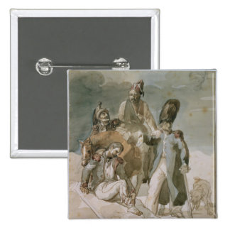 Episode from Napoleon's Retreat Pinback Button