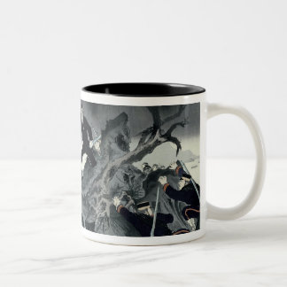 Episode from the Sino-Japanese war Two-Tone Coffee Mug