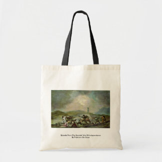 Episode From The Spanish War Of Independence Tote Bag