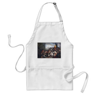Episode of the September Days by Gustave Wappers Aprons