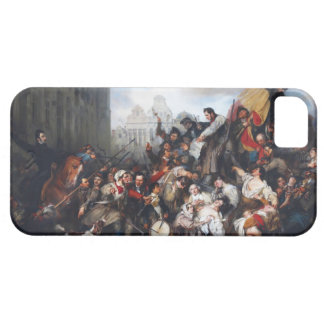 Episode of the September Days by Gustave Wappers iPhone 5 Cases