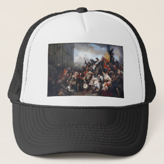 Episode of the September Days by Gustave Wappers Trucker Hat