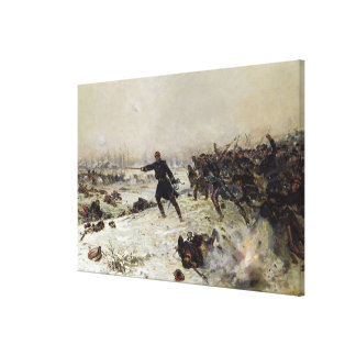 Episode of the War of 1870 Canvas Print