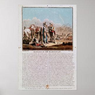 Episodio de la batalla de Marignan Póster