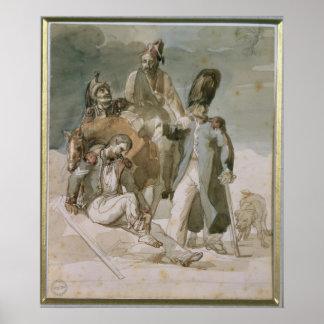 Episodio del retratamiento de Napoleon Poster