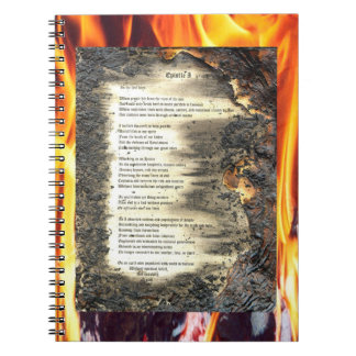 Epistle 1 note book