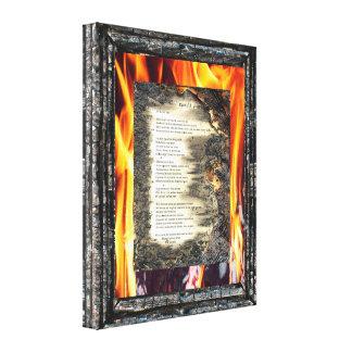 Epistle I Canvas Print