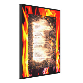Epistle I Canvas Print