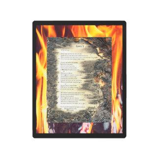 Epistle I Metal Print