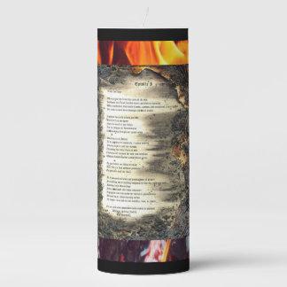 Epistle I Pillar Candle