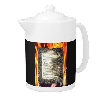 Epistle I Teapot