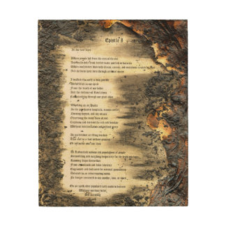 Epistle I Wood Wall Decor