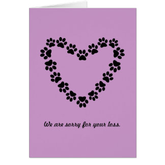 Epitaph to a Dog Card