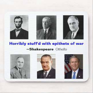 Epithets of War Mouse Pad