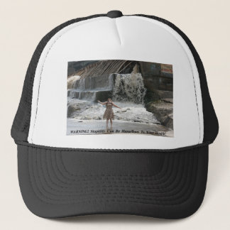 EPITOME OF FOOLISHNESS POSTER TRUCKER HAT