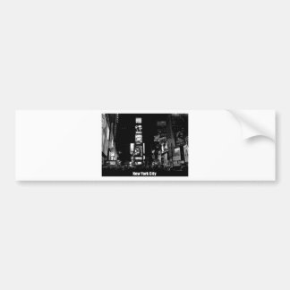 Épocas Cuadrado-Nueva York Pegatina Para Auto