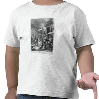 Épocas del día, mañana, 1738 camiseta