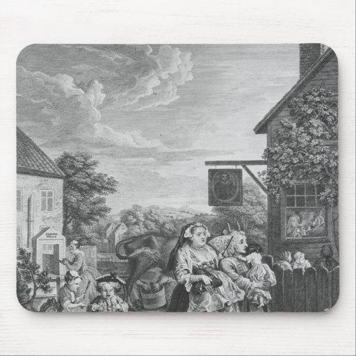 Épocas del día, tarde, 1738 alfombrillas de ratón