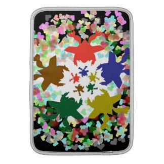 Épocas felices - diseños del bebé de la danza del  fundas para macbook air