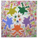 Épocas felices - diseños del bebé de la danza del  servilletas de papel