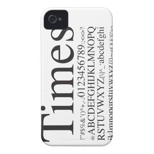 Épocas - iPhone4 - Case-Mate iPhone 4 Cárcasas