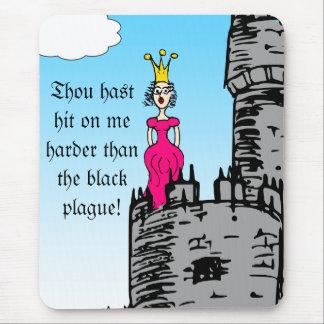 Épocas medievales - declaración del amor tapete de raton