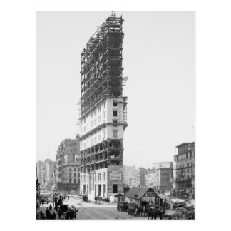 Épocas que construyen bajo construcción Nueva Yor Postal
