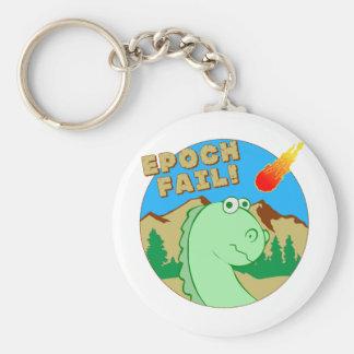 EPOCH fail! Basic Round Button Keychain