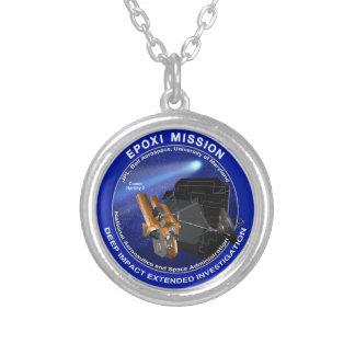EPOXI Mission Logo Custom Necklace