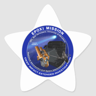 EPOXI Mission Logo Star Stickers