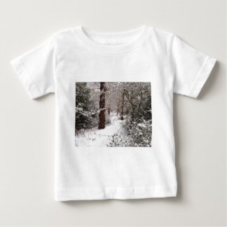 Epping Forest in the snow. T-shirt