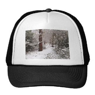 Epping Forest in the snow. Trucker Hat