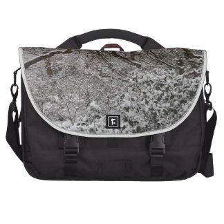 Epping Forest In Winter Laptop Bag