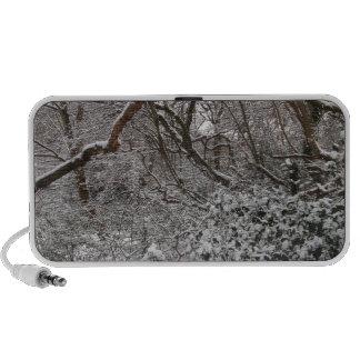 Epping Forest In Winter Mini Speaker
