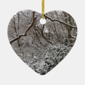 Epping Forest In Winter Ornament