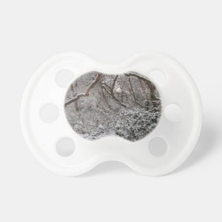 Epping Forest In Winter Baby Pacifier