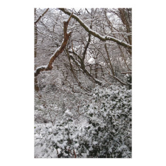 Epping Forest In Winter Stationery