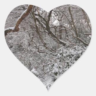 Epping Forest In Winter Sticker