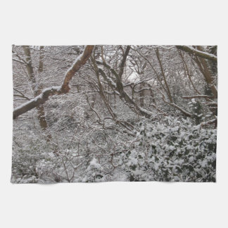 Epping Forest In Winter Towels