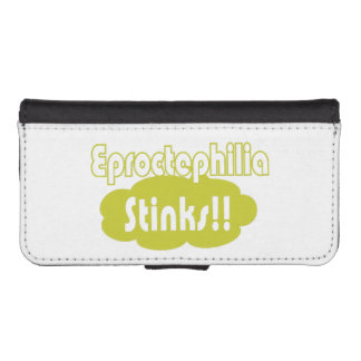 Eproctophilia Stinks!! iPhone SE/5/5s Wallet