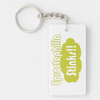 Eproctophilia Stinks!! Keychain