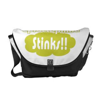 Eproctophilia Stinks!! Messenger Bag