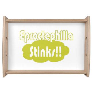 Eproctophilia Stinks!! Food Tray